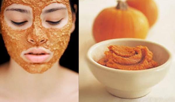 омолаживающие маска из тыквы для жирной кожи