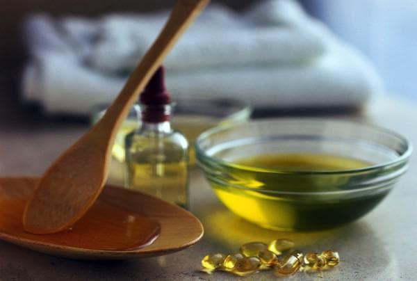 касторовое масло с маслом оливок