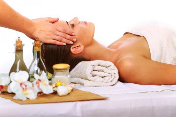 касторовое масло и массаж головы