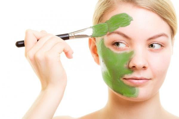 маска для лица овсянка С авокадо