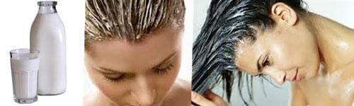 кефир и репейное масло для волос