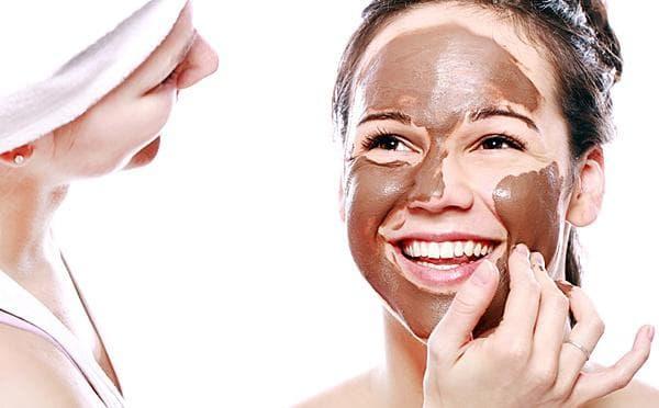 маска для лица хлопья и какао