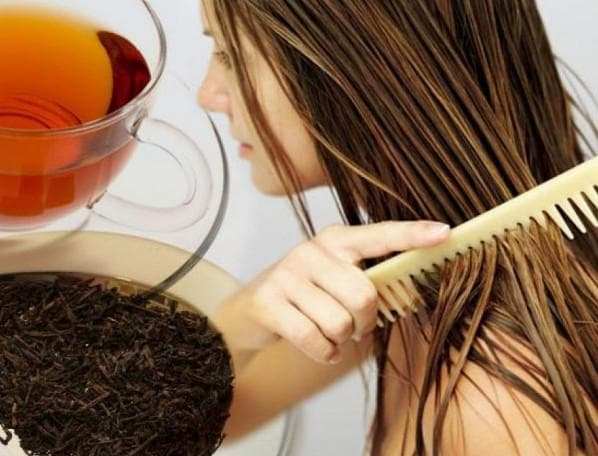 ягодное ополаскивание волос