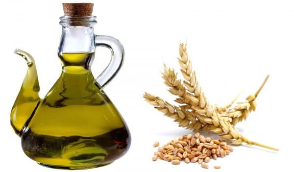 масло из ростков пшеницы, касторки и оливок