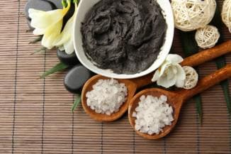 для сухой кожи чёрная глина