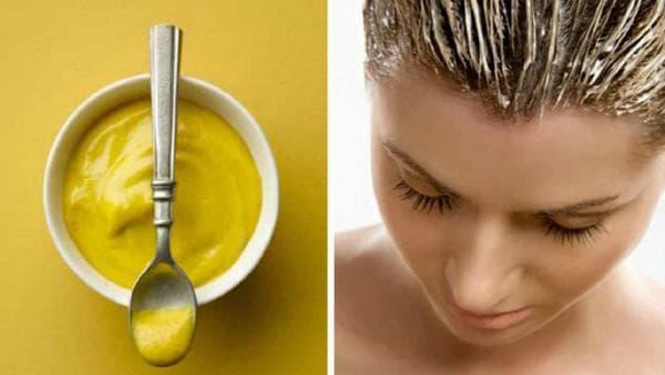 как сделать горчичную маску для роста волос