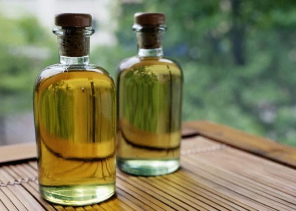 касторовое масло со спиртом