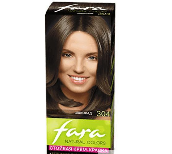 краска для волос фара Natural Color Шоколадные