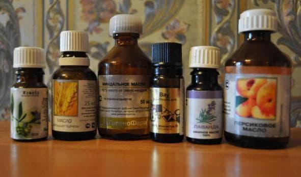 масло бей, пшеницы и касторки