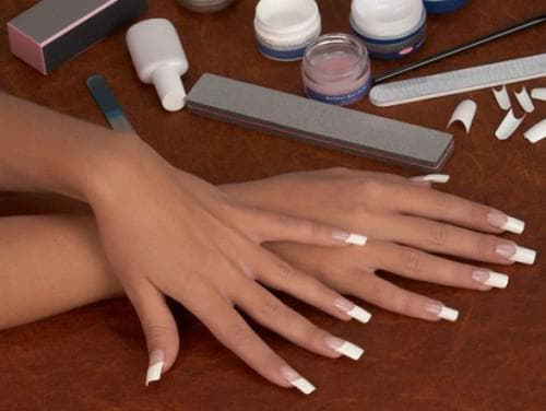 наращивания ногтей гелем пилочки