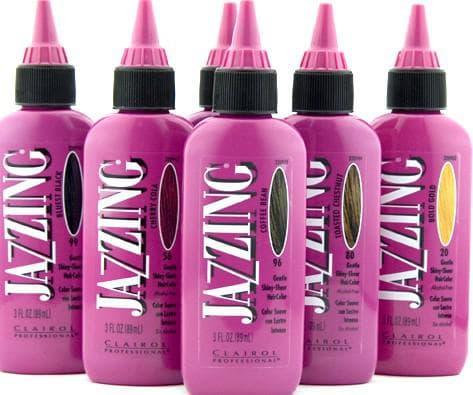 цветные краски для волос Jazzing