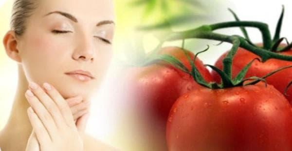 маска для волос с томатами