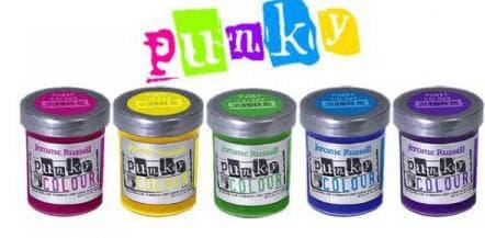 цветные краски для волос Punky Colour
