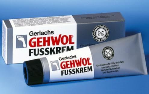 геволь крем для ног Средство для усталых ног (Gerlache Fusskrem)