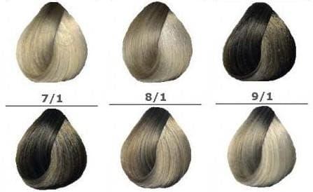 краска для волос лонда пепельные оттенки