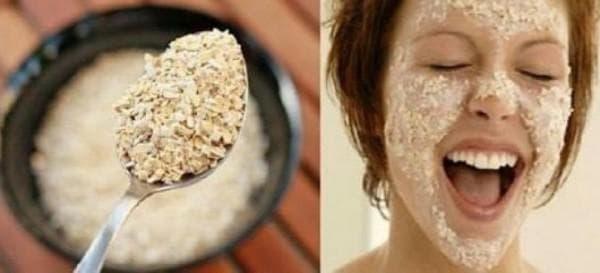 рис против сухости кожи