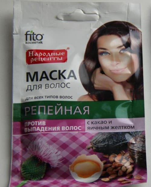 маска от Фитокосметик «Яичная»