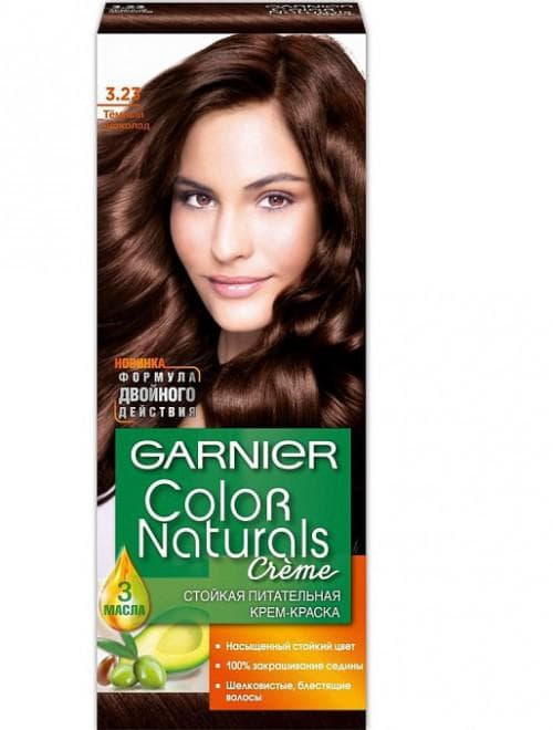 краска для волос шоколадные оттенки Garnier
