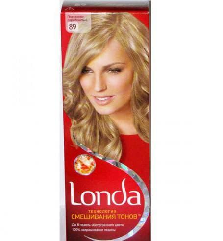 краска для волос лонда русые