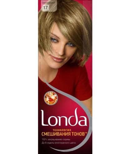 краска для волос лонда тёмный блонд