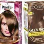 Краски для волос, имеющие в своей палитре шоколадные оттенки