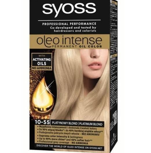 краска для волос на аммиакеSyoss Professional