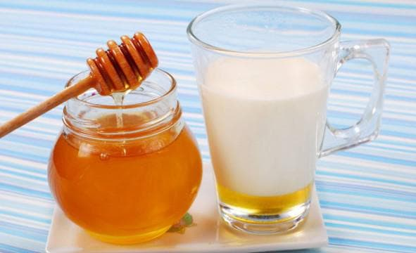 кефир и мёд для волос
