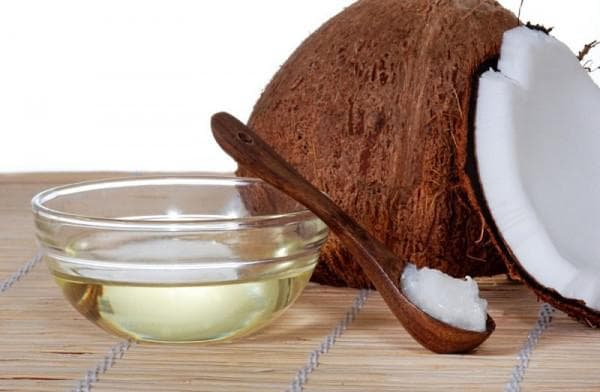 масло кокоса и мёд