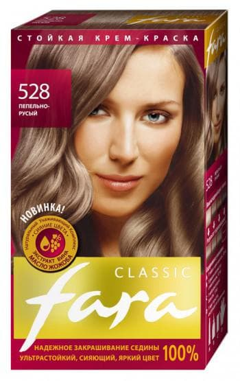 краска для волос фара Classic Русые