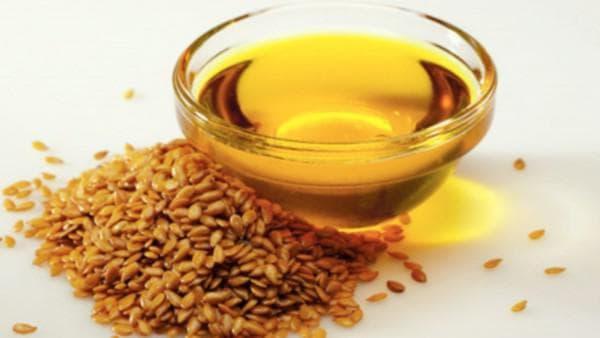 облепиховое масло, льняное масло и мука