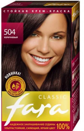 краска для волос фара Classic Черно-коричневые