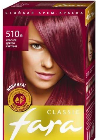 краска для волос фара Classic Красные