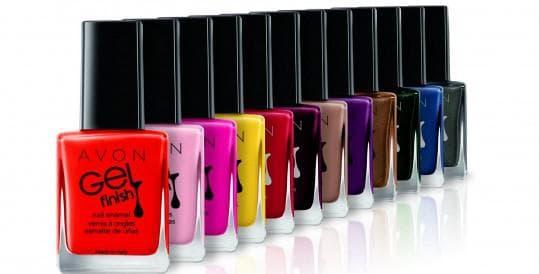 Avon лаки для ногтей с эффектом гелевого покрытия