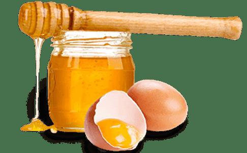 мёд и два желтка