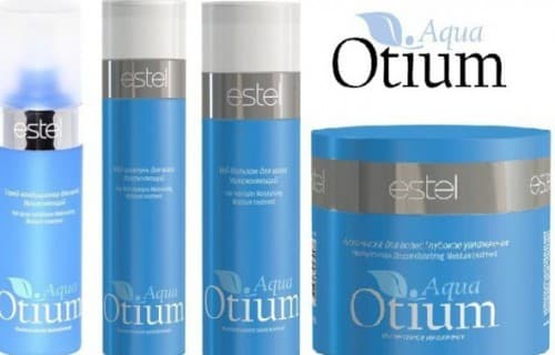 безсульфатный шампунь Otium Aqua