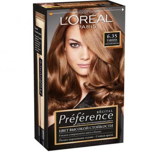 краска для волос лореаль Recital Preference