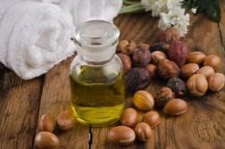 репейное и льняное масло для волос