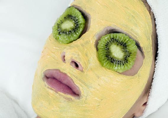 маска на основе киви