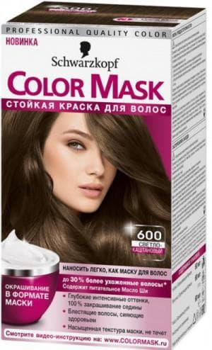schwarzkopf color mask оттенок 600