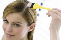 палитра у краски для волос garnier