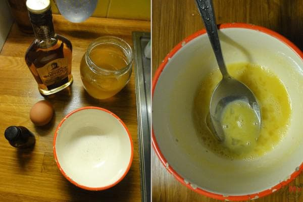 коньяк и мёд