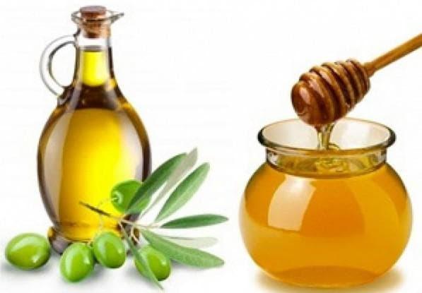 коньяк и мёд и оливковое масло