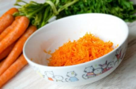 морковка для маски для волос