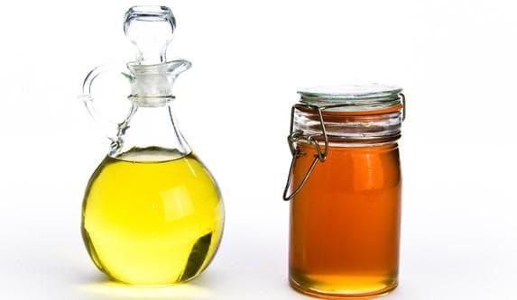 мёд и касторовое масло
