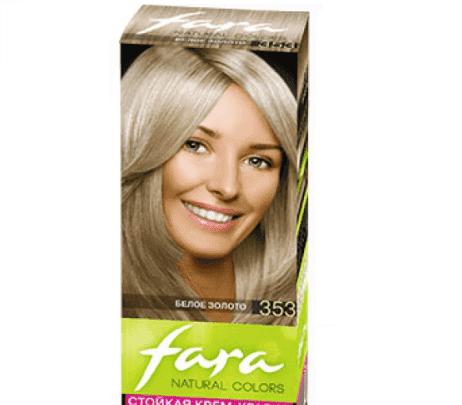 краска для волос фара Natural Color Блондинистые оттенки