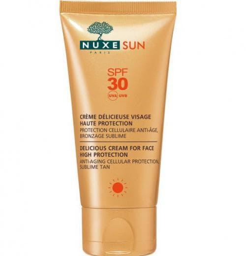 солнцезащитный крем Délicieuse Visage SPF 30 Sun от Nuxe