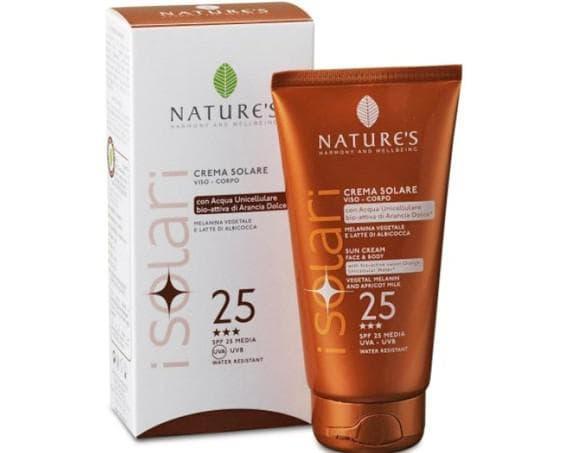 солнцезащитный крем SPF-25 Sun Wellbeing от NATURE'S