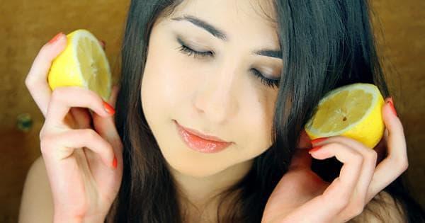 лимонное средство для волос