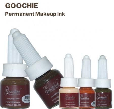 пигменты для микроблейдинга Goochie