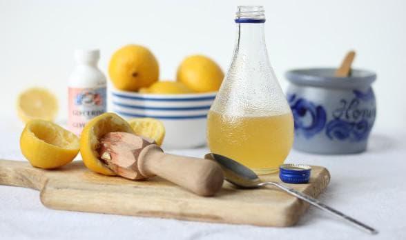 глицерин, мёд и картофель